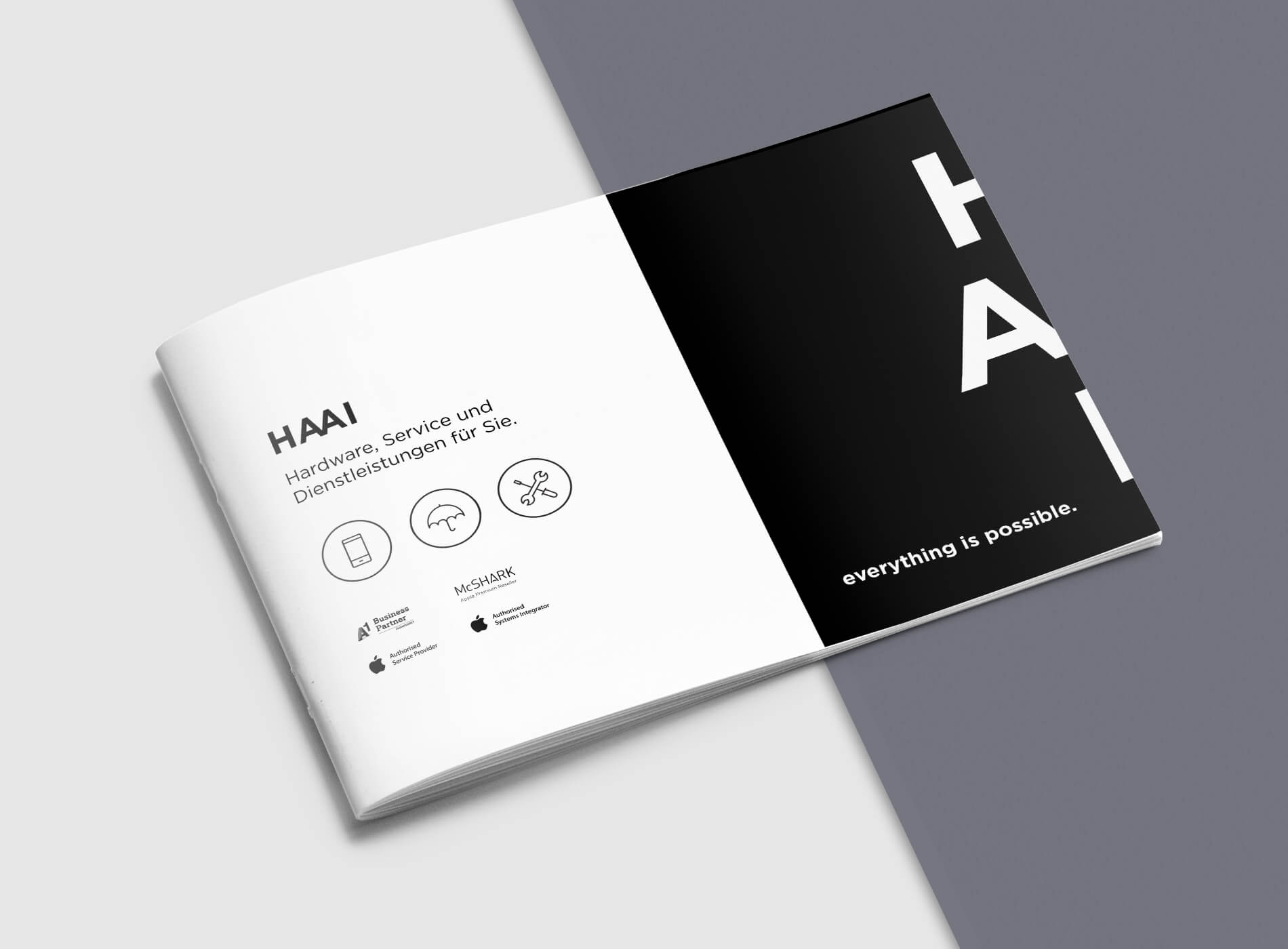 HAAI Magazin Grafikdesign