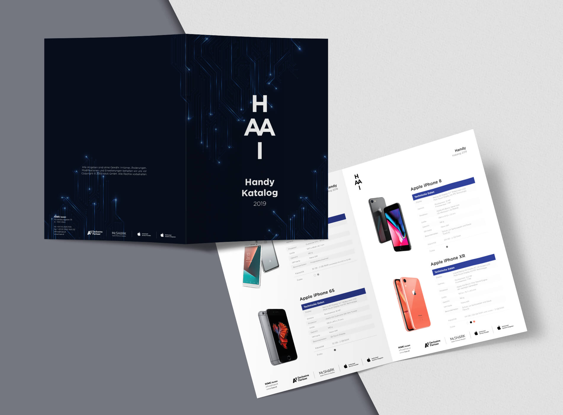 HAAI Warenkatalog Grafikdesign
