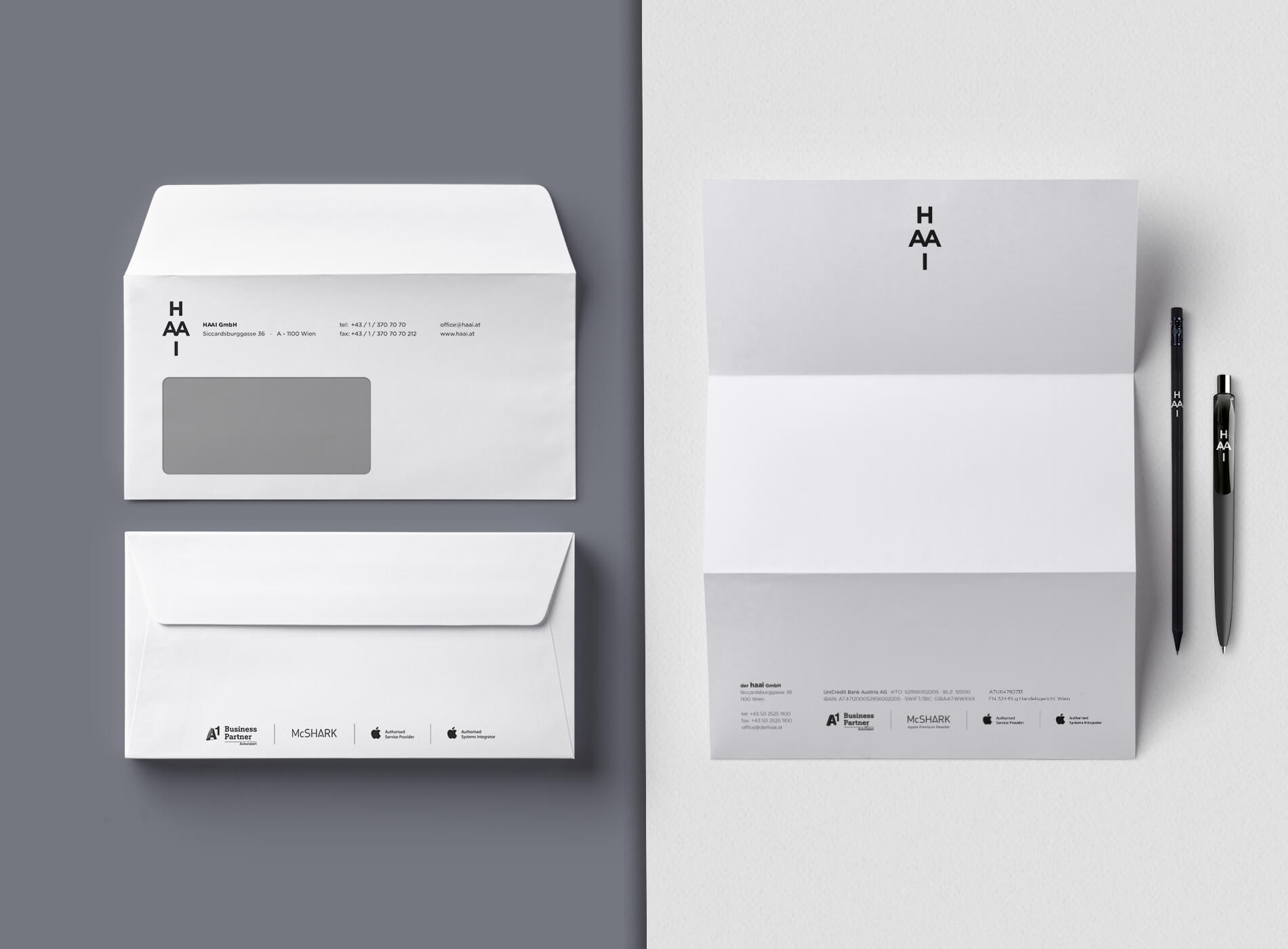 HAAI Corporate Identity Grafikdesign